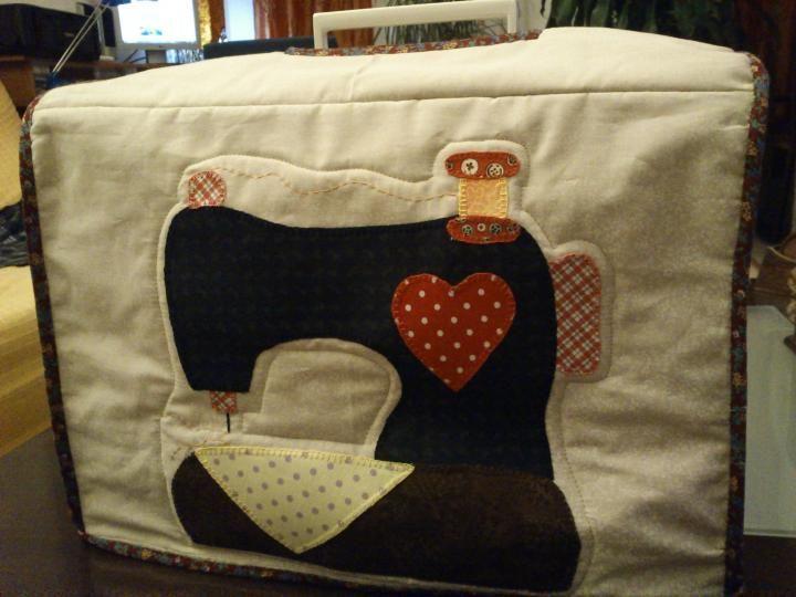 Comunidad Patchwork | La red social del patchwork - Album Photo View - Funda para la maquina de coser