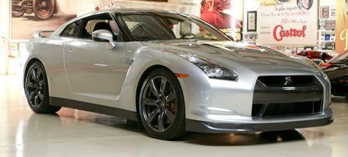 Jay Leno's 2009 Nissan GTR