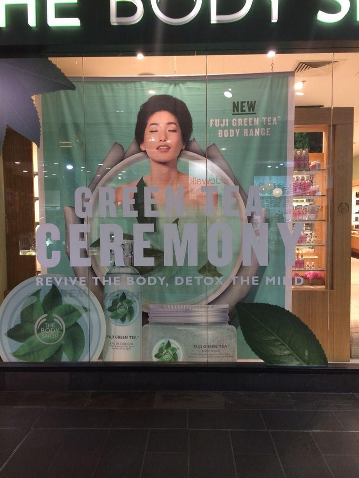 Body shop retail display.