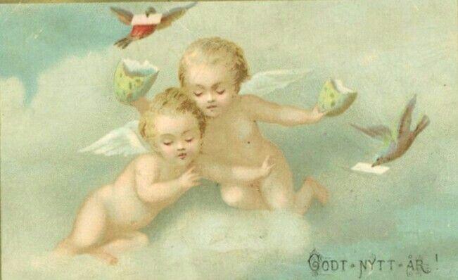 Nyttårskort tidlig 1900-tall