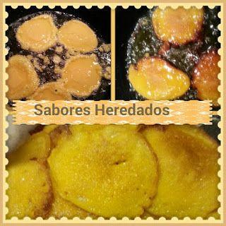 Buñuelos de calabaza/ Pumpkin fritters