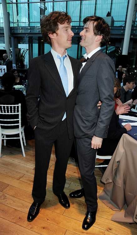 Benedict Cumberbatch & David Tennant and BOOM...you're pregnant! You're welcome.