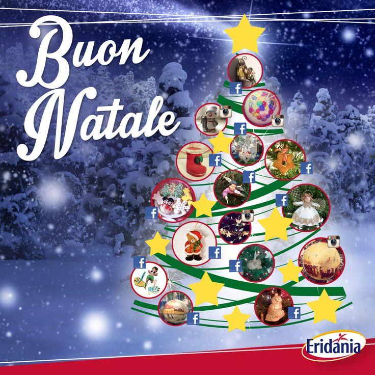 L'albero di casa Eridania si accende di gioia grazie agli splendidi addobbi dei nostri fan. Buon Natale a tutti! #merrychristmas #buonnatale #natale #eridania #albero #addobbi #CasaEridania