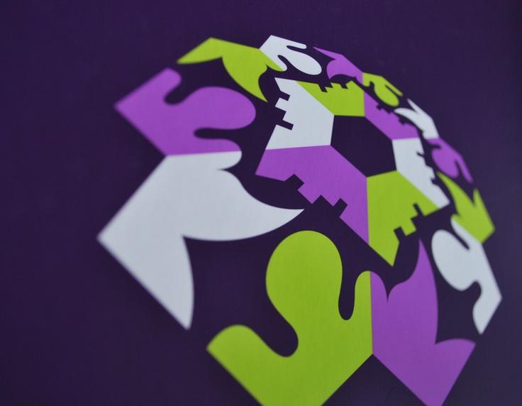 Wanddecoratie, Seyster Veste / visuele identiteit, interieurontwerp / 2008