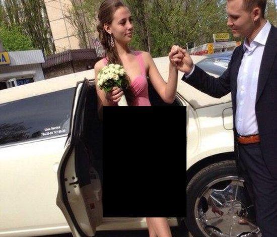 #интересное  Странное свадебное платье (3 фото)   Вот такое необычное свадебное платье было замечено на одной невесте. Собственно, подобный наряд и платьем назвать то сложно, так как он больше бы подошел на роль халата для первой брачной ночи.        далее по ссылк�