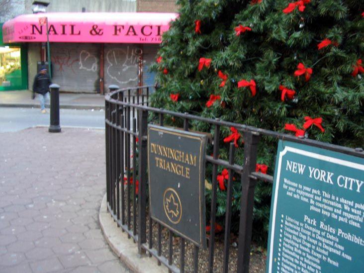 Dunningham Triangle, Jackson Heights, Queens