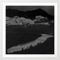 """Katharina Zahl   Society6 """"The River Dream"""""""