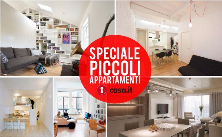Uno speciale di Casa.it dedicato ai piccoli appartamenti: 5 soluzioni sorprendenti dai 40 ai 50 mq #casa