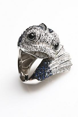 nOir Women's Koi Fish Ring: Ring Blue Clear Silver, 80Spurple Com Ring, Koi Fish, Favorite Rings, 80 S Purple, Women S Koi, Products, Black