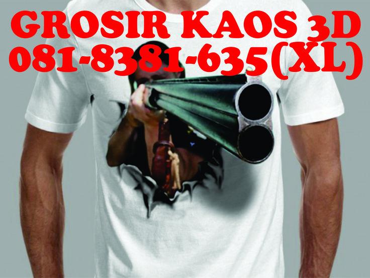 081-8381-635(XL), Grosir Baju Kaos 3d Surabaya, Harga Grosir Kaos 3d Surabaya, Pusat Grosir Kaos 3d Surabaya