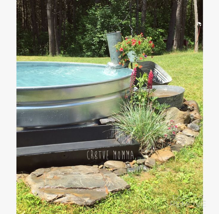1000 ideas about stock tank pool on pinterest stock - How to filter a stock tank swimming pool ...