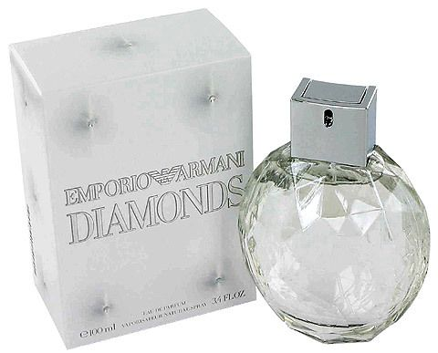 Emporio Armani Diamonds Giorgio Armani perfume - to me smells like fruit salad sweets and kind of petroly smell but in a really crisp and insteresting way