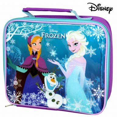 Disney Frozen Film Anna & Elsa School Lunch Bag @ niftywarehouse.com #NiftyWarehouse #Frozen #FrozenMovie #Animated #Movies #Kids