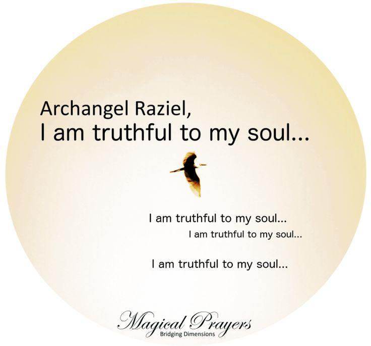 Healing affirmations to Archangel Raziel – Angelic Affirmations