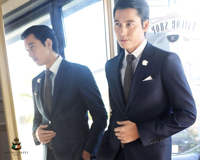 BRUNO BAFFI S/S 2015 Ad Campaign Feat. Jung Woo Sung | Couch Kimchi