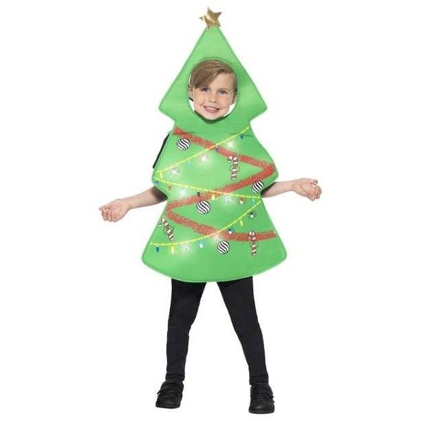 Christmas Tree Costume Christmas Tree Costume Green With Light Up Tabard 100 Christmas Tree Costume Tree Costume Christmas Tree Fancy Dress