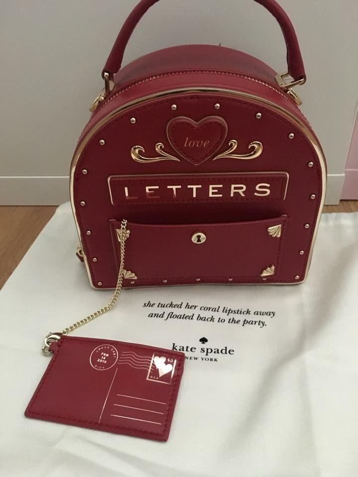 51ba17867550 Kate Spade love letters mailbox bag Novelty Bags