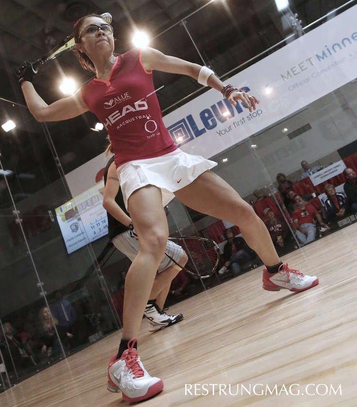 The World's 1 Female racquetball player... Paola Longoria