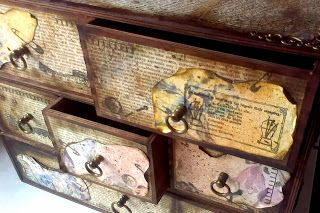 Galeria - Inspiracji - Magdy: Komoda w stylu pastelowy vintage...