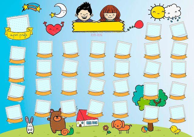 Los diseños más divertidos para las orlas infantiles. Se personalizan