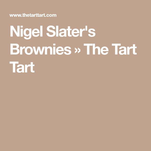 Nigel Slater's Brownies » The Tart Tart