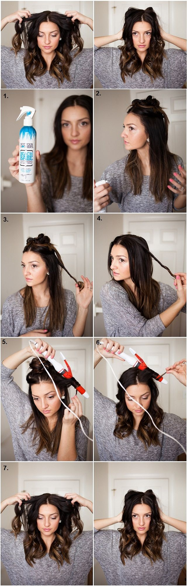 Casual curls are amazing for when you don't want to look too prepared, when going out, but still want to have a chic appearance. Easy and quick to make, they