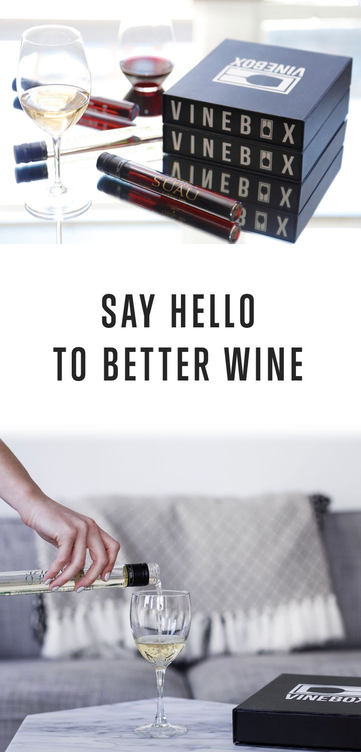Wine better with VINEBOX. Taste wines from all over the world every month. Learn more!