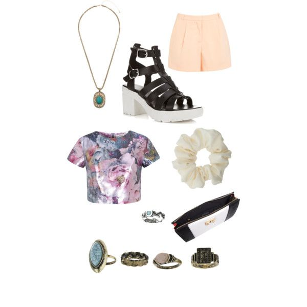 Miss Selfrige inspired outfit #1 by k3ndl3meow on Polyvore featuring polyvore, fashion, style and Miss Selfridge