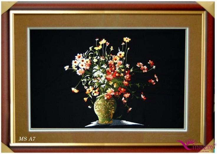 Vietnam hand Art embroidery Picture- a7 http://vinaem.vn/