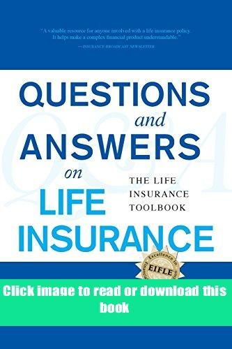 Pdf Questions And Answers On Life Insurance Book Pdf Free Download In 2020 This Or That Questions Question And Answer Books