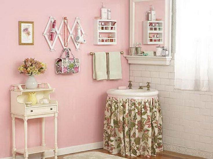 Add Some Color To Your Home With A Pink Bathroom Archiki