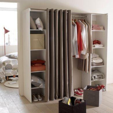 Les 19 meilleures images propos de dressing sur pinterest armoires placa - Dressing extensible ikea ...