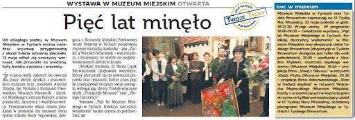 Beata Wąsowska - malarstwo, Muzeum Miejskie, Tychy