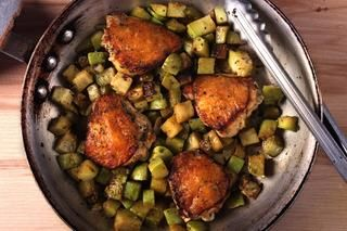 Braised Chicken and Chayote Recipe #paleo #easydinner