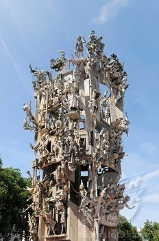 "Fastnachtsbrunnen Carnival Fountain.....also known as ""Fountain of Fools""...Mainz, Germany"