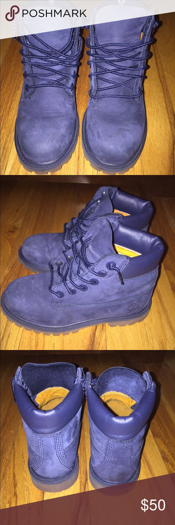 "Timberland Classic 6"" Boot EUC Timberland Classic 6"" Boot navy blue Timberland Shoes Boots"
