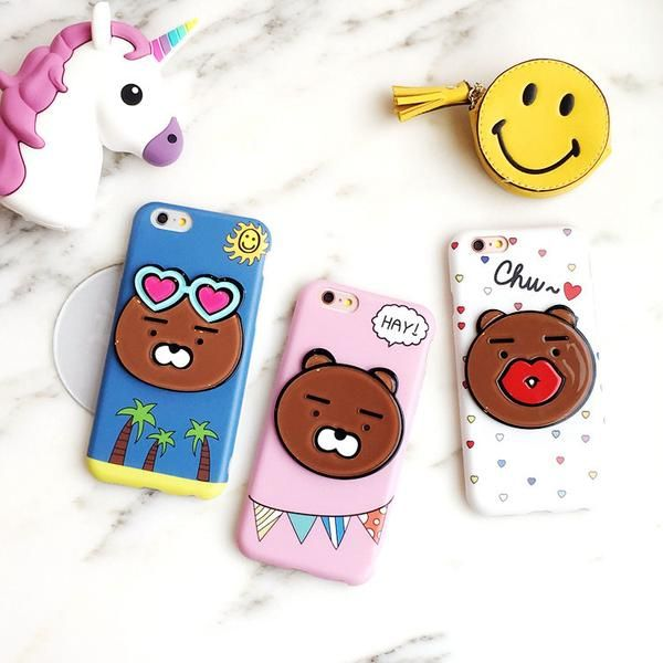Do you like cute cartoon character? This adorable bear phone case is gonna be your friend! Online exclusive! Not available in store!! Discount for LIMITED TIME