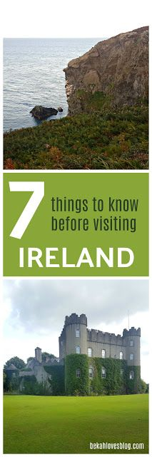 7 Things to Know Before Going to Ireland