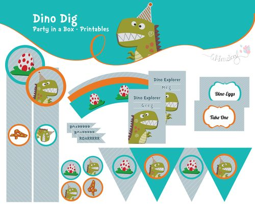 Dino Dig - Party In A Box  http://awishawaywhimsical.blogspot.com/p/online-store_8.html#!/~/category/id=8444319&offset=0&sort=normal