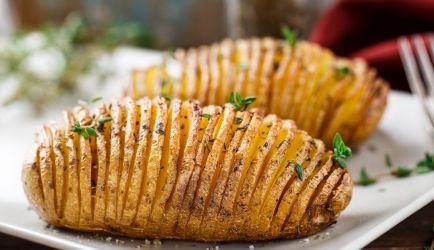 Hasselback Aardappeltjes recept | Smulweb.nl
