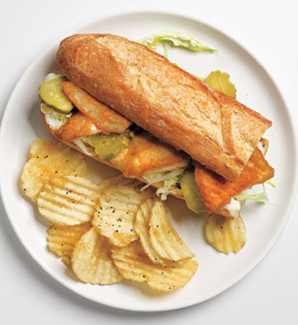Tilapia Po Boy - Country Bob's | Recipes | Pinterest