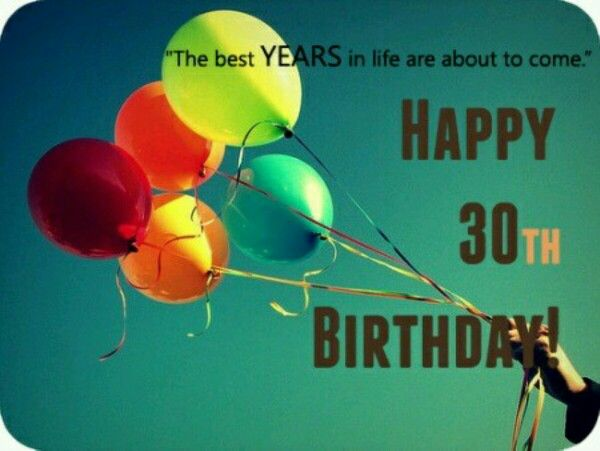 The 25 best 30th birthday quotes ideas – 30th Birthday Card Messages