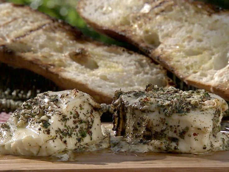 Marinated and Grilled Provolone recipe from Michael Chiarello via Food Network