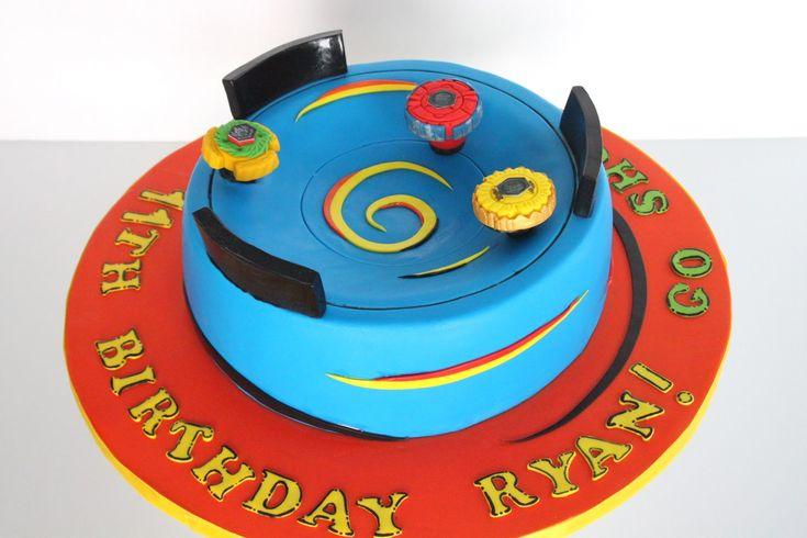 Beyblade Cake Birthday Party Beyblade Cake Cake