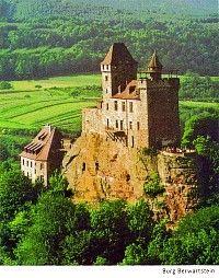 Burg Berwartstein, Erlenbach bei Dahn , Rheinland Pfalz, Germany.. says to be haunted...