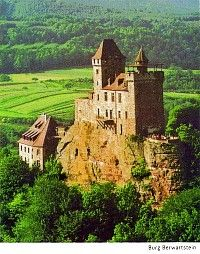 Burg Berwartstein, Erlenbach bei Dahn , Rheinland Pfalz, Germany.. says to be haunted...