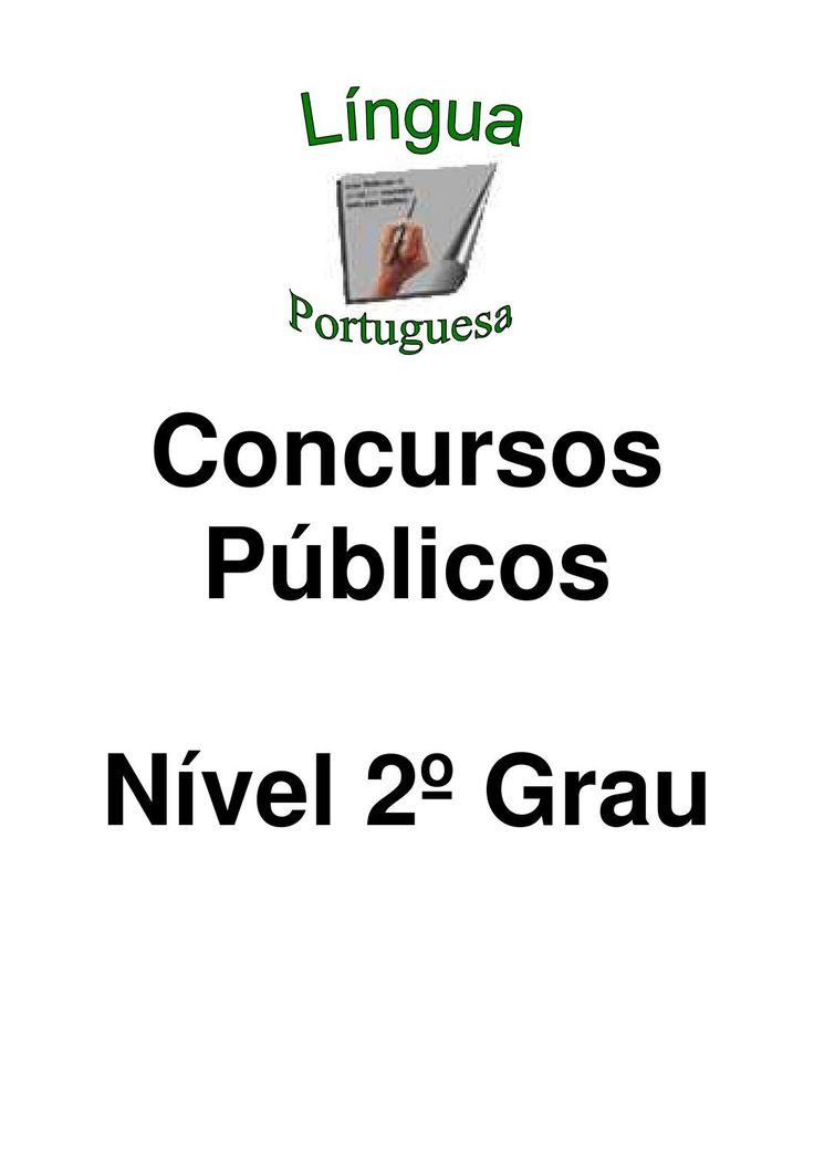 Apostila de Portugues Especifico Concurso  Apostila de português para Concurso público, http://www.primeiroelemento.com