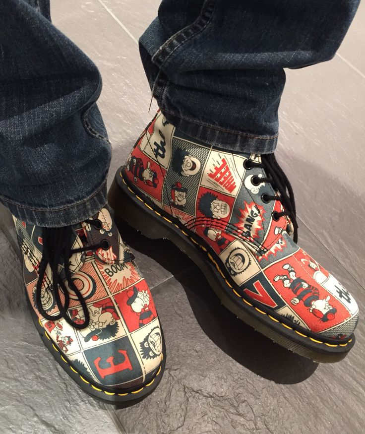 Beano Dennis the menace Dr Martin boots
