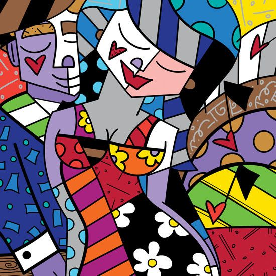 Romero Britto, one of my favorite artists