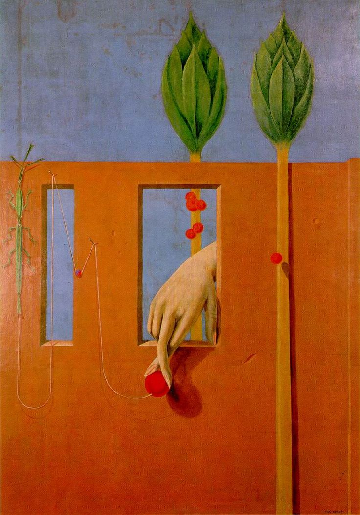 max ernst / at the first clear word  / dusseldorf / 1923
